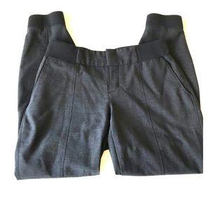 Athleta Black Wool Work It City Pants